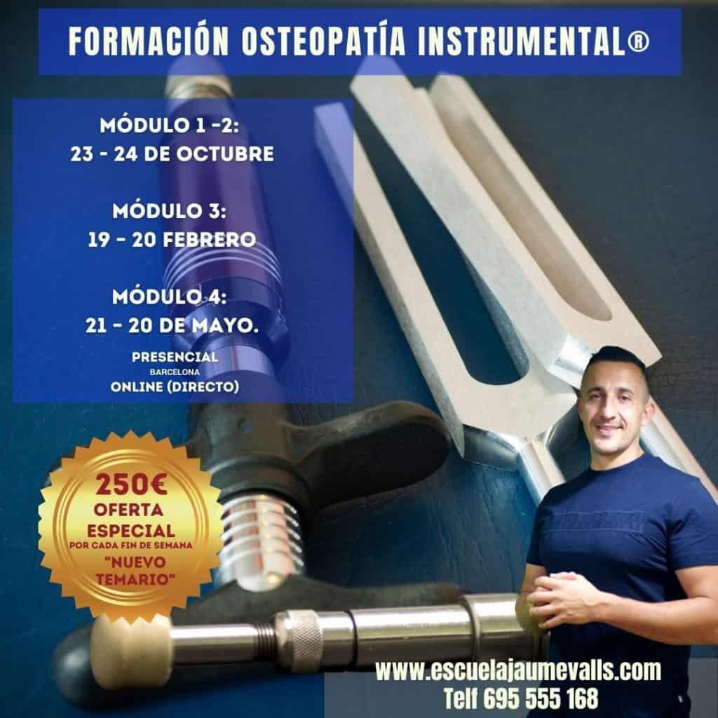OSTEOPATÍA INSTRUMENTAL Módulo I - II Percutor Neurológico-